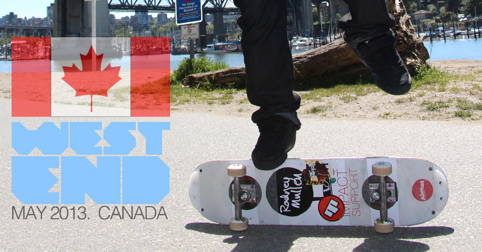 Alejandro Finy at West End Canada Freestyle Skateboarding